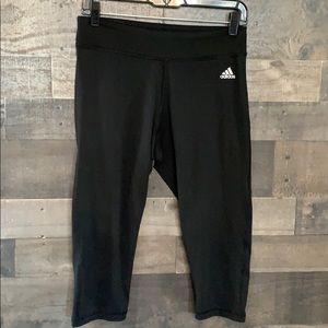 Black Adidas Workout Capris